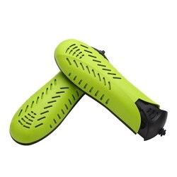 Elektryczna suszarka do butów 220V podwójny rdzeń elektryczna suszarka do butów z wtyczką usa w Półki i organizatory na buty od Dom i ogród na