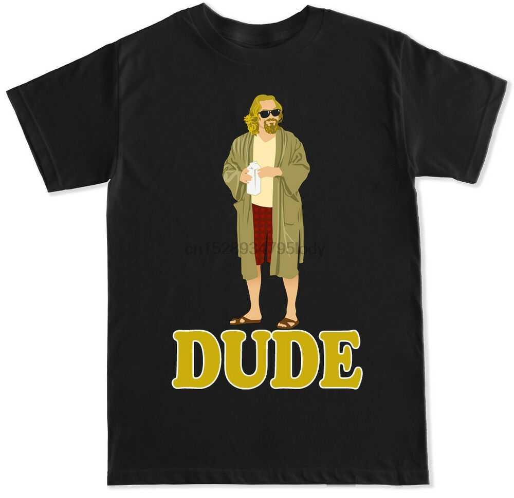 Dude Funny Movie Film Big Lebowski Cult Classic Meme Retro 90 S Humor T-shirt