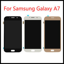 For Samsung Galaxy A7 2017 A720 A720F A720M LCD Touch Screen Digitizer Assembly Replacement Free Tools 100% Tested()