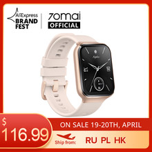 70mai – montre connectée de sport pour hommes, GPS, Bluetooth, moniteur de fréquence cardiaque, résistance à l'eau 5atm, rappel d'appel