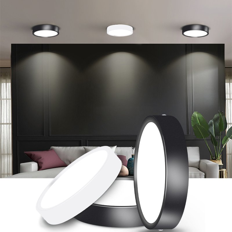 Lighting-Fixture Downlights-Down-Lights Surface-Mounted Round 5W 110V 220V 10W Home Led