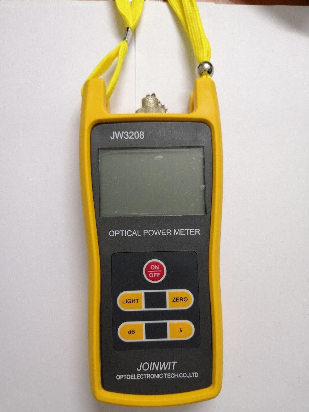 JoinWit JW3208 волоконно оптический измеритель мощности с разъемом LC FC SC ST - 2
