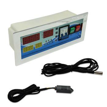 1SET Full Automatic Egg Incubator Controller Multifunction Controller Temperature Humidity Sensors Egg Hatcher Controller