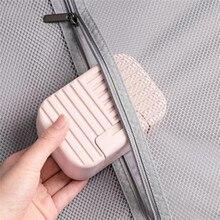 Estilo nórdico caixa de sabão com tampa selada viagem portátil caixa de sabão casa banho sabão caixa de armazenamento
