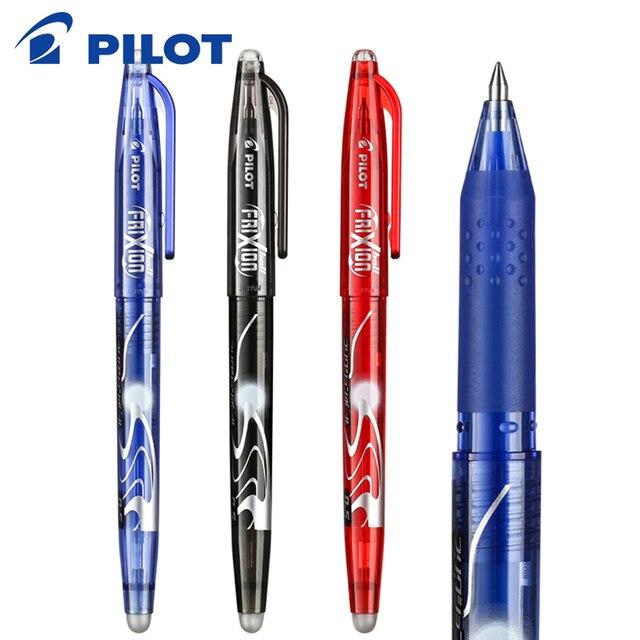 8 개/몫 브랜드 파일럿 Frixion 펜 LFB 20EF 지울 수있는 젤 잉크 펜 중간 팁 0.5mm 총알 학생 매일 쓰기