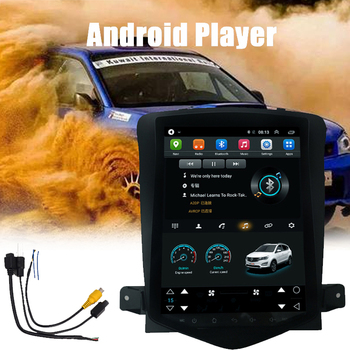 Reversing Display GPS Navigation Car Radio Multimedia Player Radio 2 Din Vertical Screen HD 10.4 Inch Cruze 2006-2014 Car Radio image