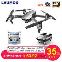 LAUMOX SG907 Drone 4K HD Réglage Caméra Grand Angle 5G WIFI FPV RC quadrirotor Pliable Professionnel Drones E520S E58