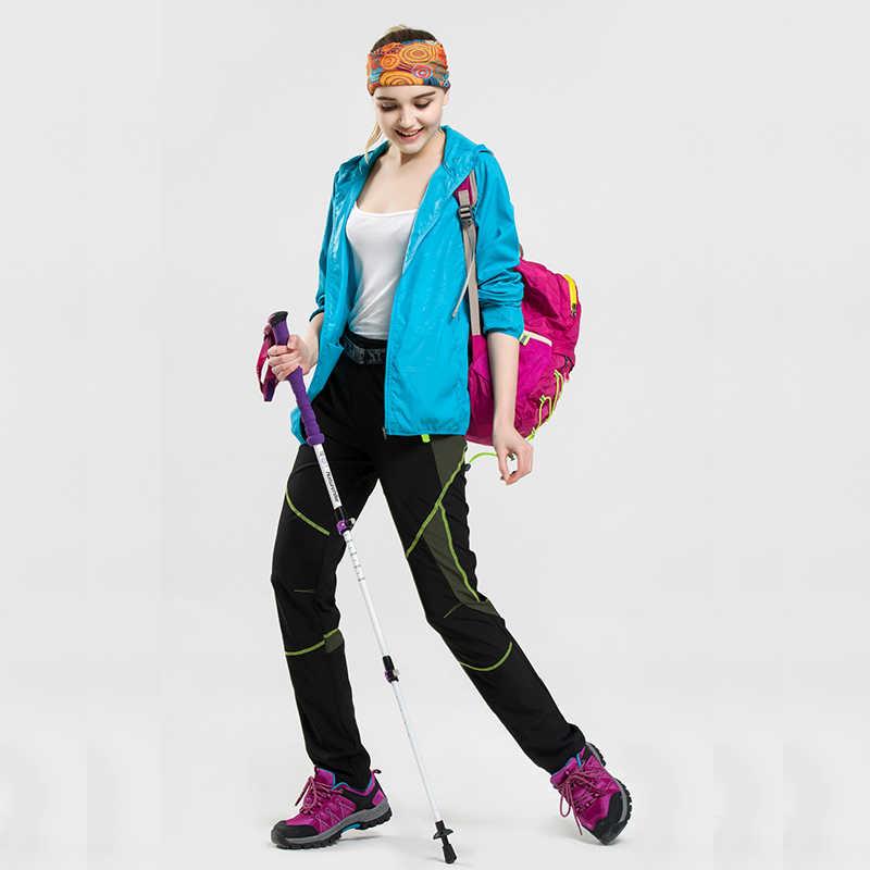 10 色メンズ女性ハイキング旅行防水防風抗 Uv フード付きジャケット屋外自転車クイックコート日焼けユニセックス