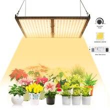 Светодиодная панель для выращивания растений, квантовая панель Samsung LM301B 3500K, полный спектр, COB Светодиодная лампа для выращивания растений в помещении, теплице, палатке