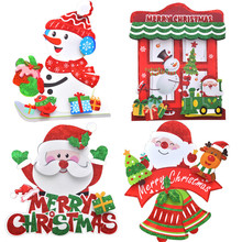 Christmas Three-dimensional listing Props Hanging Holiday Party Decoration Ornaments Festival Supplies navidad 2019