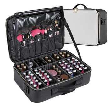 LHLYSGS Brand Cosmetic Case Suitcases