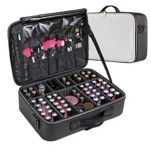 LHLYSGS Brand Cosmetic Case Suitcases Mu