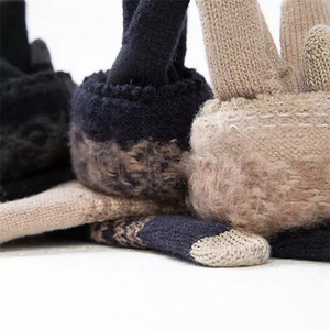 Image 5 - Youpin FO Finger Touch Screen Gloves for Women Men Winter Warm Velvet Gloves For Screen Phone Tablet Birthday/Christmas Gift