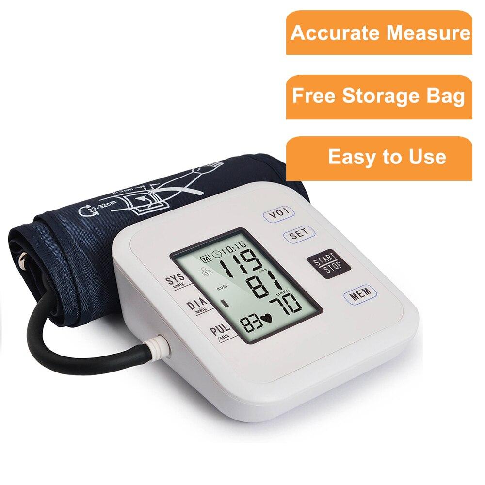 Medizinische Ausrüstung Tonometer Blutdruck Monitor Arm Gerät für Mess Herz Schlagen Meter Maschine Blutdruck