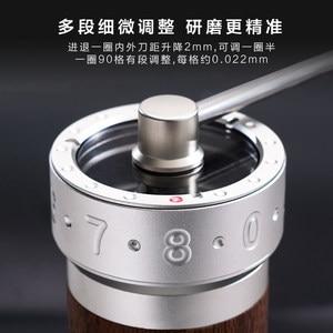 Image 3 - 1zpresso k pro kahve değirmeni taşınabilir manuel kahve değirmeni 304 paslanmaz çelik çapak ayarlanabilir 40mm özel çapak