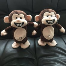 Electronic Pets Interactive Toys Smart Walking Talking Monkey Plush Recording Electric Birthday Gifts