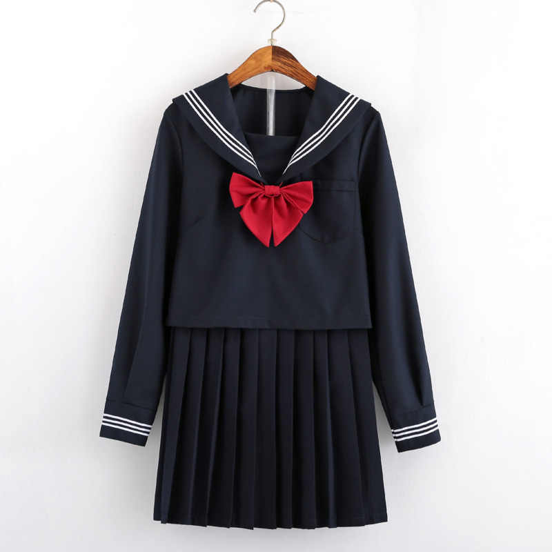 JK graduation kleid sexy comic cosplay sailor anzug kinder kostüm blau Kawai hohe schule student uniform set Harajuku plissee rock