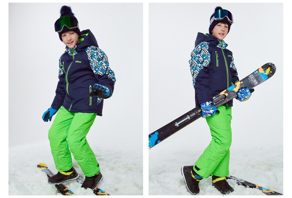 boys ski coat