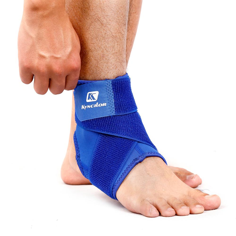 Outdoor Sports Ankle Running Fitness Compression Bandage Rrotective Ankle Sprain Protector Unisex 1 PCS