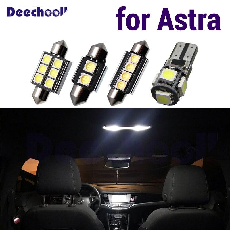 2x Opel Astra J de 4 LED lado Repetidor indicador de señal de vuelta luz bombillas