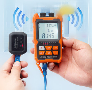 Image 5 - Mini 4 in1Multifunction Optical PowerNC NT  Meter Visual Fault Locator Network Cable Test optical fiber tester 5km 15km  VFL