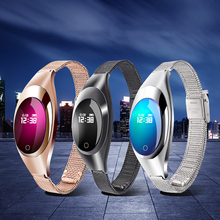 Smart Watch Bracelet Z18 Blood Pressure Heart Rate Monitor Pedometer Fitness Tracker watches Fashion Clock For Android IOS phone недорого