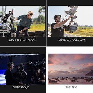Image 2 - Zhiyun Crane 3S/Se 3 Axis Gimbal Handheld Stabilizer Ondersteuning 6.5Kg Dslr Camera Camcorder Video Camera S voor Nikon Canon