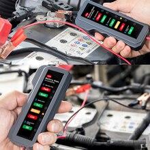 12 В автомобильный тест на батарею er lcd цифровой тестовый анализатор авто система анализатор генератор коленчатый контрольный тестер