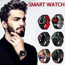 K15 relógio inteligente à prova dwaterproof água pulseira esporte fitness monitor de sono para android 4.0 ios 8.0 e acima de tela cheia-toque smartwatch