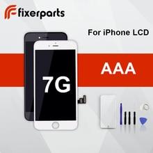 1 adet sınıf AAA Iphone 7 için LCD ekran dokunmatik ekran Digitizer değiştirme tam meclisi ile IPhone 7 Lcd için araçları kiti