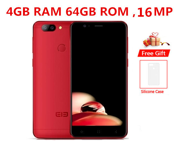 "Original NEW ELEPHONE P8 mini 4G Mobile Phone 4GB+64GB MTK6750T Octa Core Android 7.0 16.0MP Fingerprint ID 5.0"" 4G CellPhone"