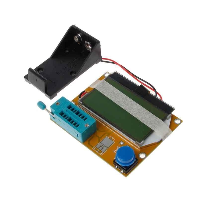 LCR-T4 ESR Meter Mega32 Grafis Transistor Resistor Kapasitor MOSFET Tester
