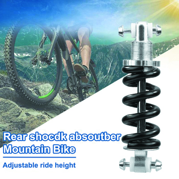 MTB Rear Suspension Damper Spring Shock AbsorberBicycle Spring Folding Shock 125mm 450LBS image