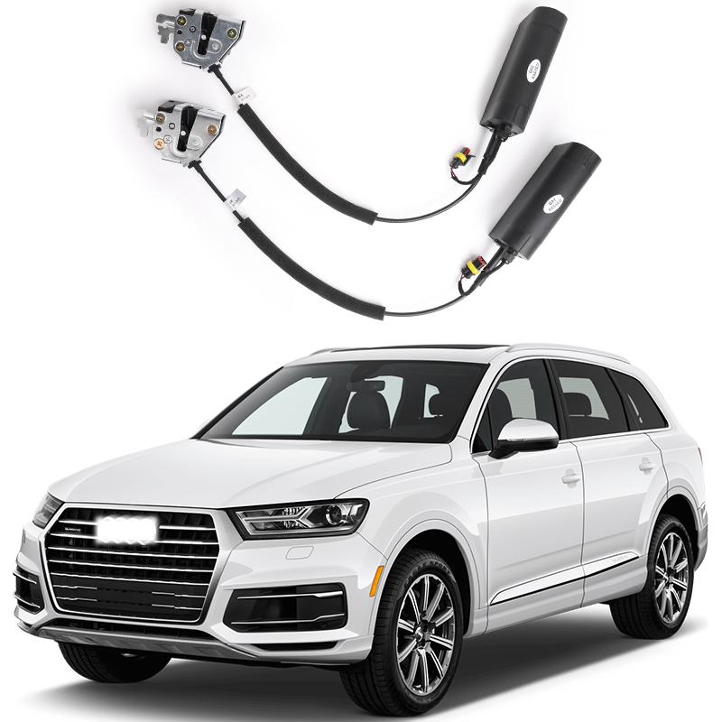 for Audi Q7 Electric suction door Automobile refitted automatic locks Car accessories...