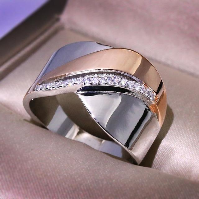 Bow Knot Rhinestone Ring 2