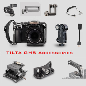 Tilta GH camera cage Accessory for Panasonic LUMIX GH4 GH5 GH5S dslr rig top handle Baseplate HDMI clamp holder Power cable(China)