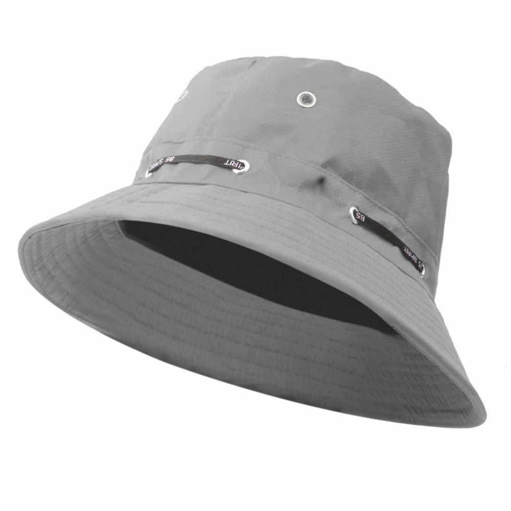 Vinho vermelho sólido oco adulto homem e mulher boné respirável moda chapéu de sol ao ar livre viagem casual pote balde chapéu kapelusz