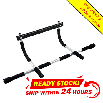 цена Adjustable Indoor fitness door frame Multi-functional Pull up bar wall Chin up bar Horizontal bar Fitness Equipments онлайн в 2017 году