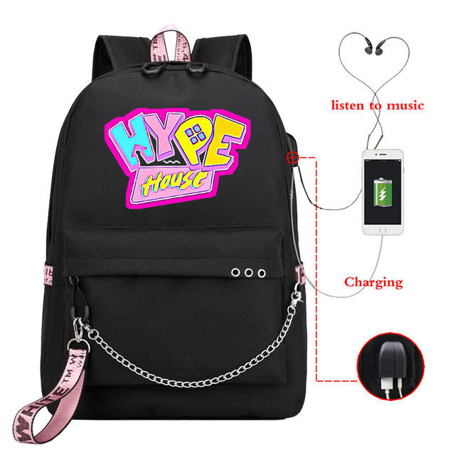 THE HYPE HOUSE THEMED BACKPACK (20 VARIAN)