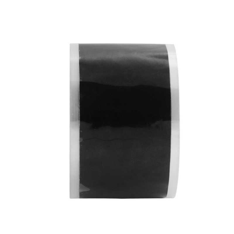 Dropship 자기 접착 강한 검은 다목적 고무 실리콘 수리 테이프 방수 본딩 테이프 구조 자기 융합 와이어