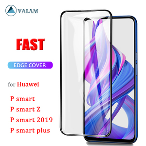 Image 1 - VALAM Tempered Glass Screen Protector For Huawei P smart Z 2019 Full Cover Glass For huawei P smart 2019 plus Z Protective Glass