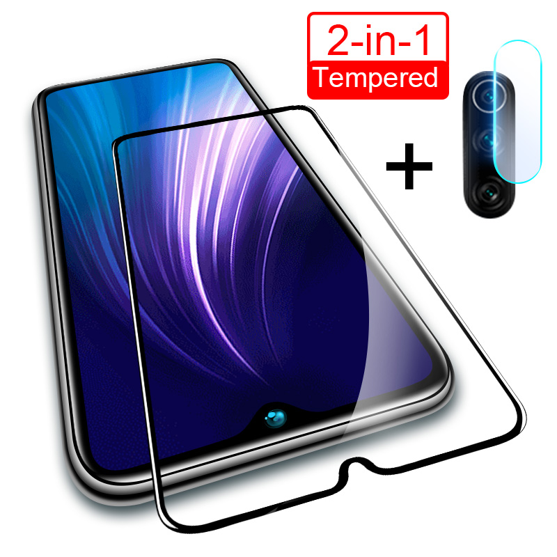 2 In 1 Camera Lens Tempered Glass For Redmi Note 8T 7 6 8 Pro 8A Screen Protector Glass For Xiaomi Redmi 7 7A 8 8A Note 5 Glass