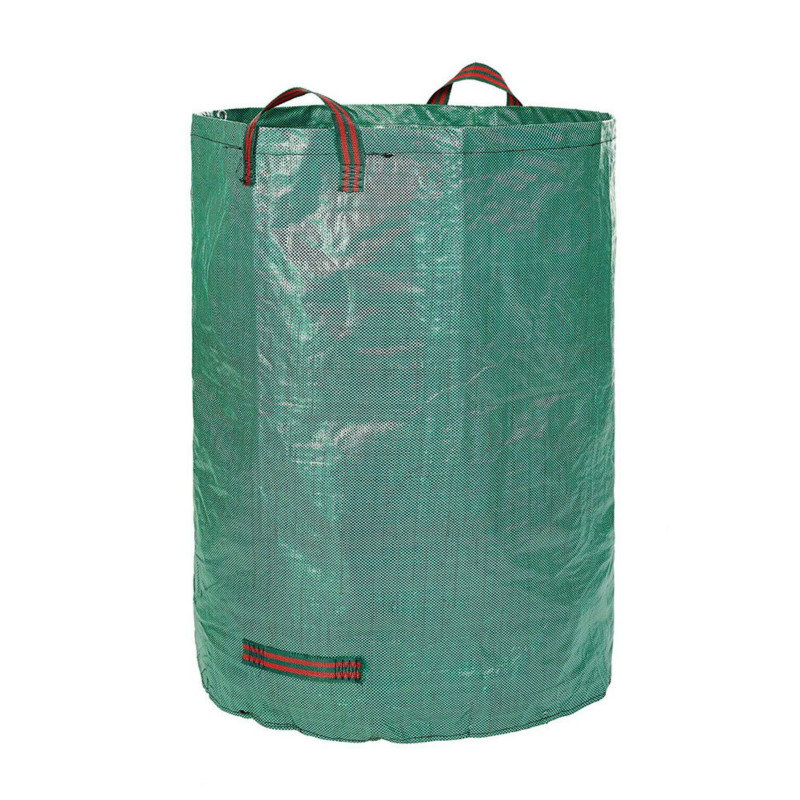 1 Pcs XS9-0013 80 Gallons 300L/132 Gallons 500L Garden Sack Leaf Bag Garbage Reusable Foldable Pot Planting Grow Growing Bags