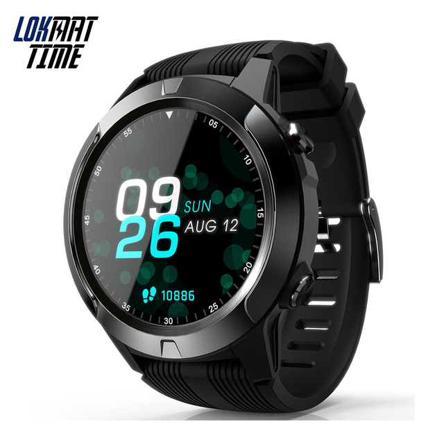 Lokmat Time Bluetooth Call Smart Watch GPS Fitness Tracker IP67 Waterproof Smartwatch Support Phone Calls SIM Card For Women Men 1