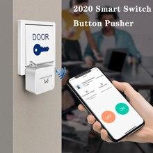 2021 yeni akıllı anahtar Bot düğme itici kablosuz telefon Bluetooth kontrol ev anahtarsız kilit Bluetooth kablosuz açık kolaylık