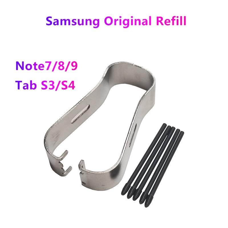 サムスンNote9/8 オリジナルソフトヘッドスタイラスリフィルspen電磁ペンのペン先銀河ブックタブS3 T820 T825 タブS4 T830 T835