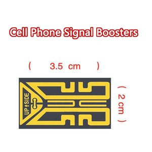 1PCS Sp-3/4 Mobile Cell Phone 2G/3G/4G Signal Boosters Antenna Enhancement Sticker Improve Signal For Elevators Tunnels Outdoors