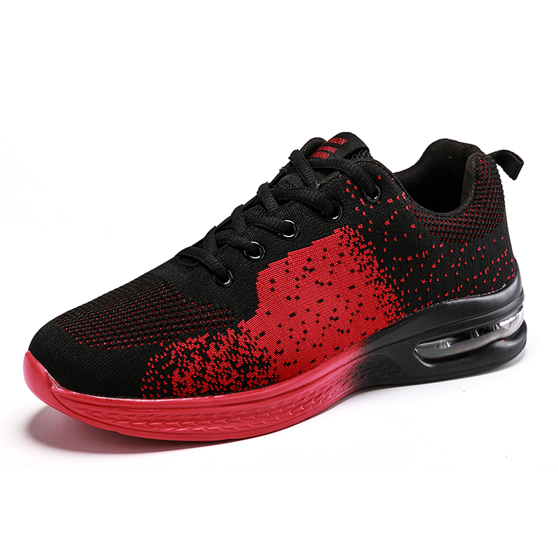 Running Shoes Spring 2020 Breathable Mesh Outdoor Brand Sports Shoes Air Cushion Shoes Non-slip Fitness Shoes Platform Sneakers