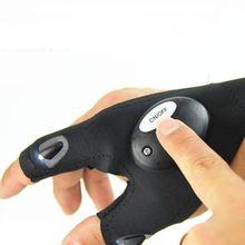 Светодиодный светильник перчатки палец светильник ing Авто Ремонт Открытый Ночной рыбалки артефакт безопасности и выживания Z0613