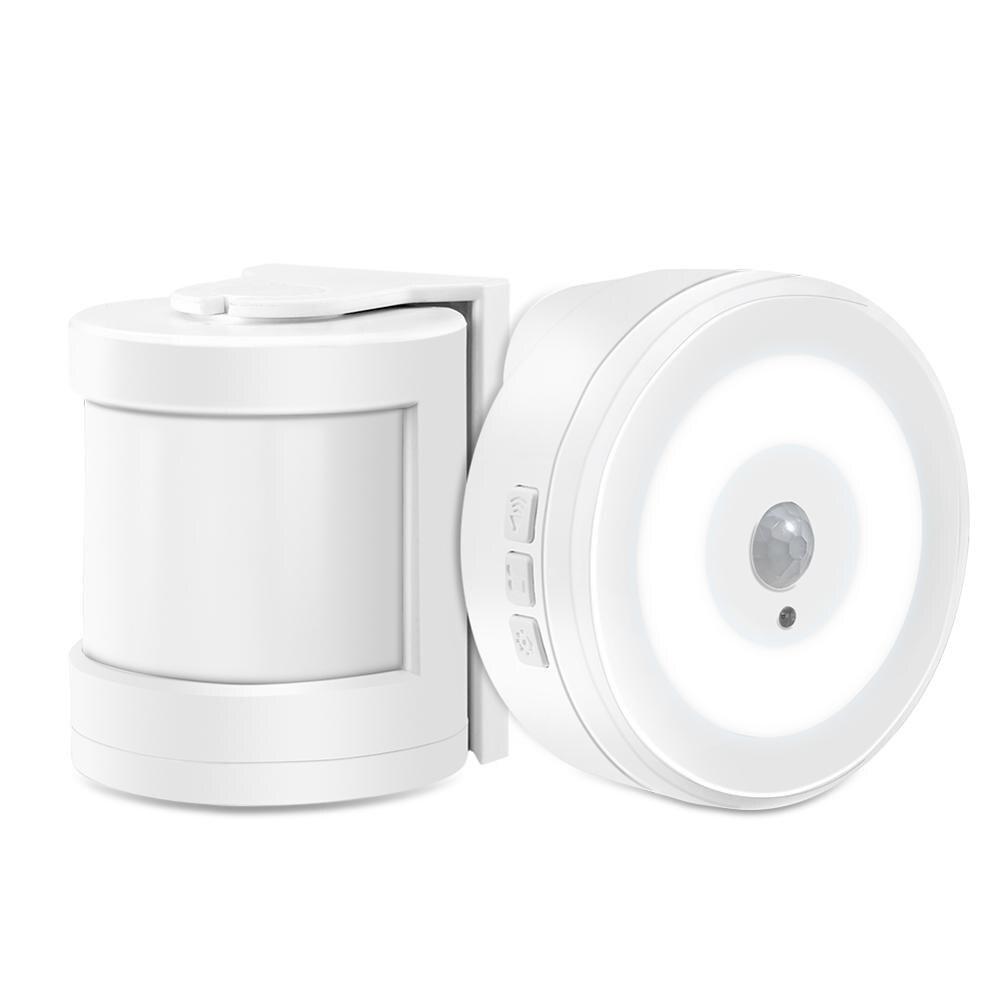 Yiroka PIR Motion Sensor Alarm Doorbell Security Safety Alert Motion Detector Wireless Doorbell Anti-Theft Burglar For Home Shop